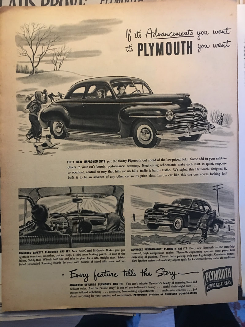 1948 Plymouth 4 Door Rd Usa Classics Business Coupe Picture